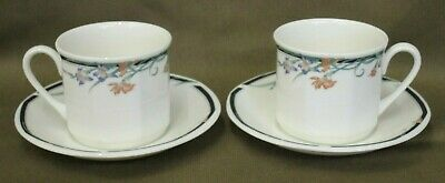 2 NEW & UNUSED Royal Doulton Juno Fine China Tea Cups and Saucers more available