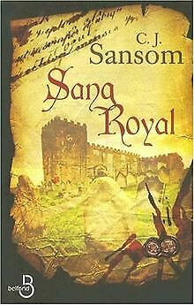 Sang royal by Sansom, C-J   Book   condition good