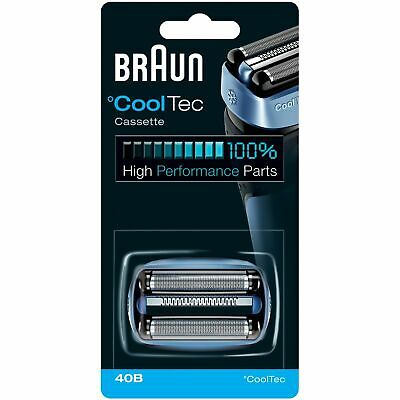 Braun CoolTech Combi 40B Electric Shaver Replacement Foil & Cutter Head Cassette