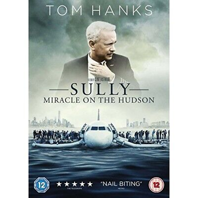 Sully - Miracle On the Hudson DVD (2017) Tom Hanks true-life drama