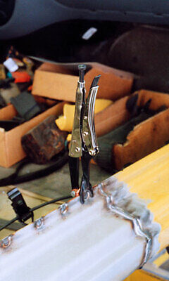 Super Clamp Support Tool Use in MIG Welding - TURN UP THE HEAT! Weld Pliers