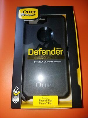 New OtterBox Defender For Apple iPhone 7 PLUS & iPhone 8 PLUS Case Black FASTSHP