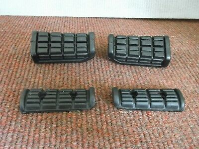 Yamaha XJ900 Footrest rubbers front & rear.New.1983-1992