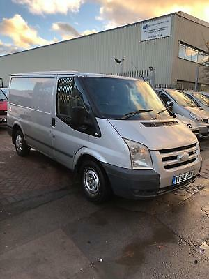 58 Reg Ford Transit 2.2 Tdci In Silver Swb Cheap Bargain Van New Mot Ready To Go
