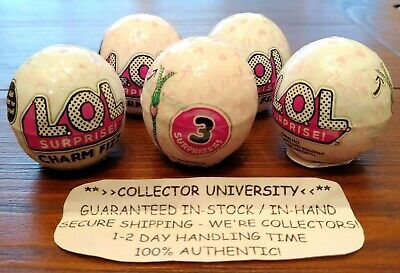 LOL Surprise Charm Fizz Authentic MGA Series 2 New Children/'s Bath Bomb Doll NEW