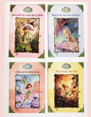 Disney Fairies Chapter Books ~ Set of Four Paperbacks ~ Mermaid Lagoon, Butterfl