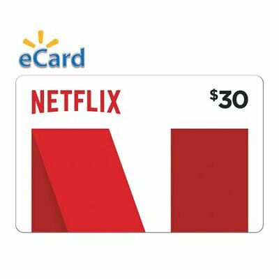 Netflix Gift Card - 30$ - INSTANT DELIVERY !