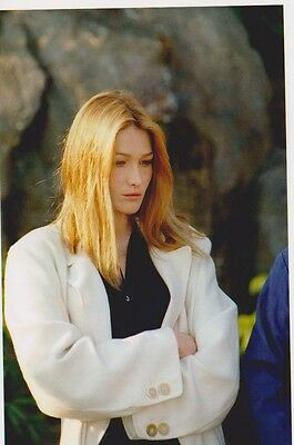 Carla BRUNI - OPEN TENNIS MONACO 1996 Photo Presse Originale