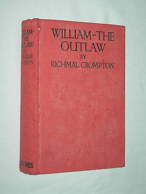 William The Outlaw Richmal Crompton HB 1927 1st Edition