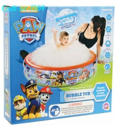 Paw Patrol Summer Bubble Tub Outdoor & Indoor Toddler Paddling Swimming Pool