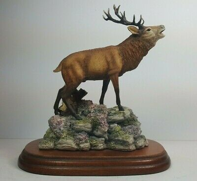 Rare Border Fine Arts - Red Deer Stag No 151 - By David Walton From 1992
