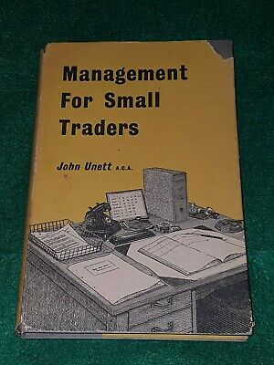 Management For Small Traders - John Unett A.C.A. Ilifee & Sons Ltd 1955 **
