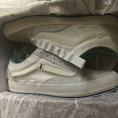 2b0a94bd55 Vans Vault Regrind Old Skool Cap LX Off White Marshmallow Deconstructed Size  11