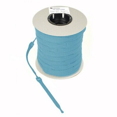 VELCRO Brand Cable Ties One Wrap Double Sided Straps in AQUA  25mm x 300mm