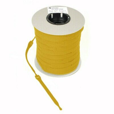 VELCRO Brand Cable Ties One Wrap Double Sided Straps in YELLOW  25mm x 300mm