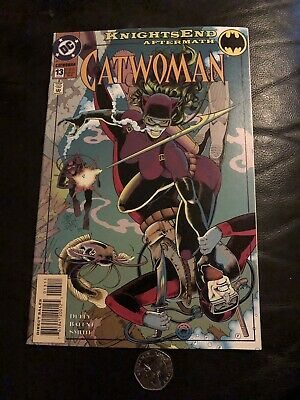 DC Catwoman 13 Aug 94 Knights End Aftermath