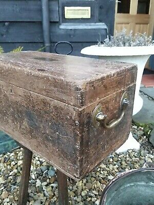 A Super Early 19th Century Artists Chest Fj Ellis Georgian Jewel Chest box