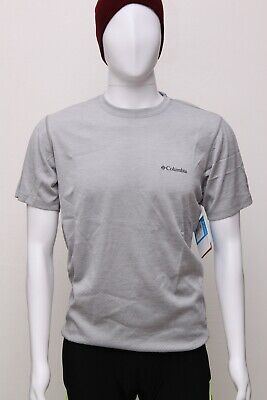 COLUMBIA Hillvalley Forest Outdoor Cotton T-Shirt Short Sleeve Tee Mens All Size
