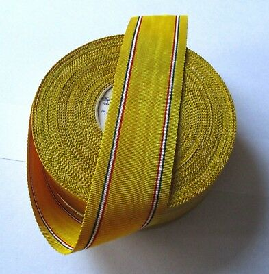 Us American Defence Medal / 6 Inch Length Of Old  Ribbon / Free Uk P+P