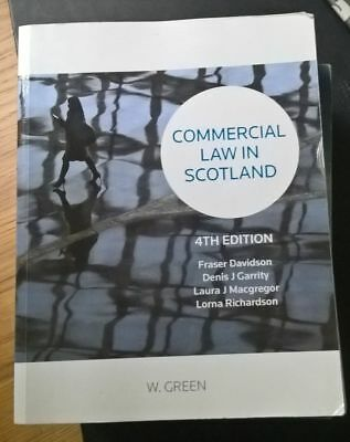 Commercial Law in Scotland by Professor Fraser P. Davidson, Laura Macgregor...
