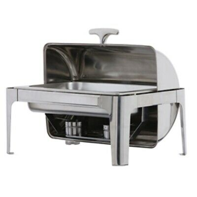 New & Clean Roll-Top Chaffing Dishes With Single Compartment Available For HIRE
