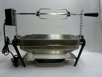 Farberware Stainless Steel Indoor Open Hearth Broiler Rotisserie