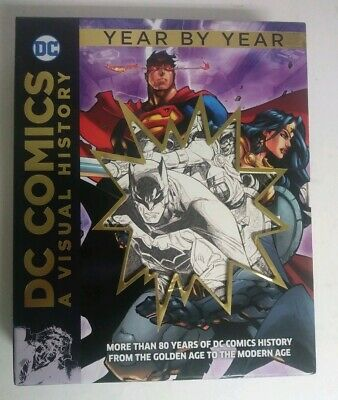 DC Comics A Visual History Year by Year 2017 1st Edition Used - VHTF - Free Ship