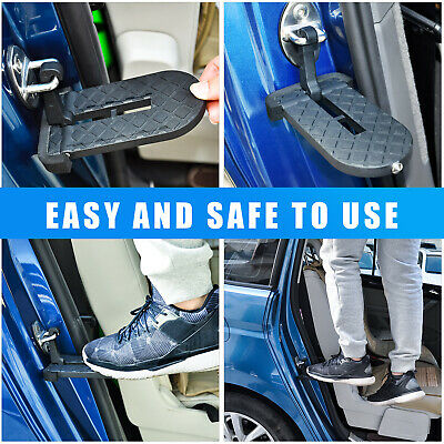 Car Door Step Vehicle Folding Ladder for Jeep SUV Car Easy Access to Car Rooftop