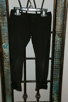 The Children's Place Girls Leggings Pants - Size S (5/6) - Black