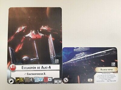 Star Wars FFG Armada 2x Promo cards - Alt Art