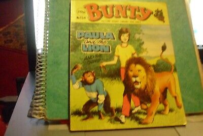 BUNTY picture story library no 254, Paula and the Lion and the chimp.