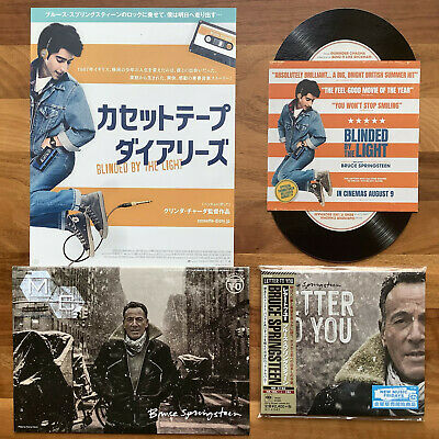 Japan Sticker+Digisleeve Cd With Obi&Insert Bruce Springsteen Western Stars 2019