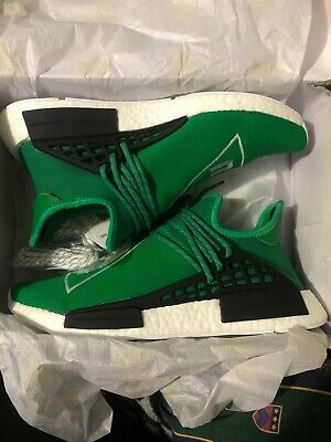 finest selection a9cb1 50012 DS Adidas PW HU NMD Size 11 Pharrell Williams Human Race Green BB3070 PK  Yeezy