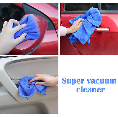 10x Microfiber Cleaning Cloth Towel Rag Car Polishing No Scratch Auto Detailing