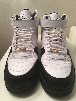 low priced 56b1a 6e5c4 NIKE Air Jordan AJF12 Xll Retro Taxi (317742 101) Sz 13 Fusion Air Force
