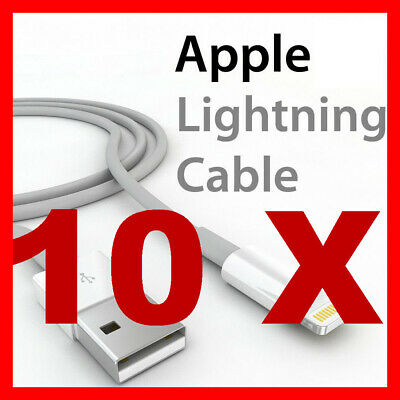 Certified USB Lightning Cable Cord Data For Apple Charger iPhone iPad 7 X 8 6 5