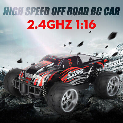 1/20 2.4Ghz Red Radio Remote Control Off Road RC Buggy Car Monster 55KM/H AUS