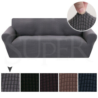 Super Stretch Sofa Slip Covers Couch Lounge Covers Slipcovers 1/2/3/4 Seater