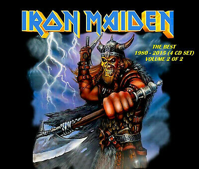 Iron Maiden - [Remastered] The Best Volume 2 of 2 (4 CD Set) New! Sealed!