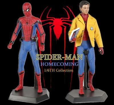 Crazy Toys Spider-Man: Homecoming i Reunion Personaggio 1/6 Statua 28cm