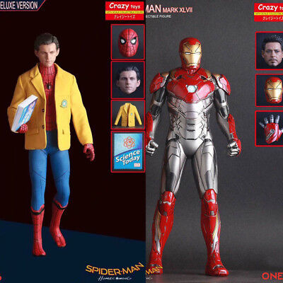 Crazy Toys Spiderman: Homecoming i Reunion Personaggio Ironman Mk 47 Statua