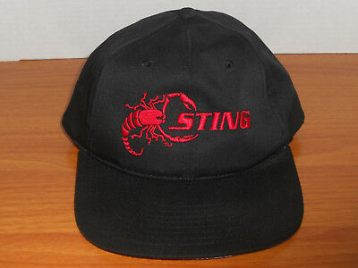 d072b86c82eea Vintage WCW NWO Wolfpac Sting Snapback Hat Late 90s old school wwf wwe  authentic