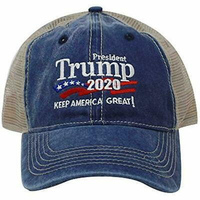Trump 2020 Keep America Great Campaign Embroidered USA Hat Baseball Trucker Cap