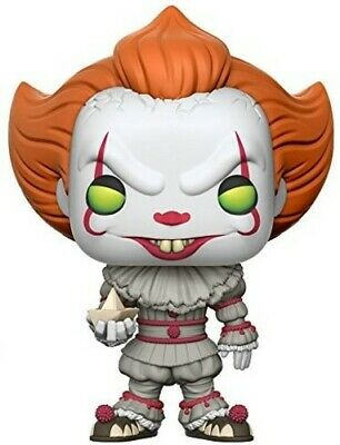 It - Pennywise with Boat - Funko Pop! Movies (2017, Toy NUEVO)