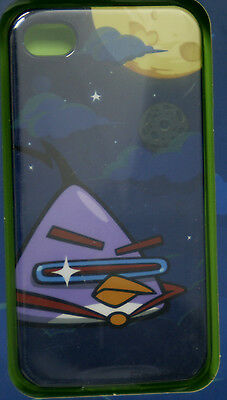 NEW Angry Birds Space Clear Clip-on Skin Cover iPhone 4 4S High Gloss