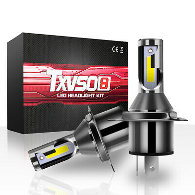 H4 led globes Hi/Lo Beam Bi-Xenon Headlight Car Conversion 6500K Light 110W