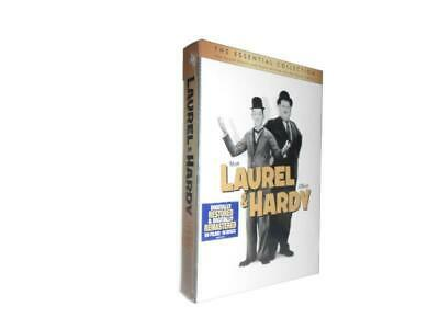Laurel & Hardy The Essential Collection 10 DVD 56 Films Set New Free Shipping
