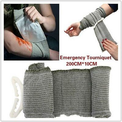 1pc Battle Dressing Medical Trauma Survive Bandage Emergency Tourniquet Favor