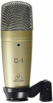 BEHRINGER C-1 Studio Condenser Microphone XLR Connector From Japan with Tracking