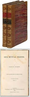 Charles DICKENS / Our Mutual Friend First Edition 1865